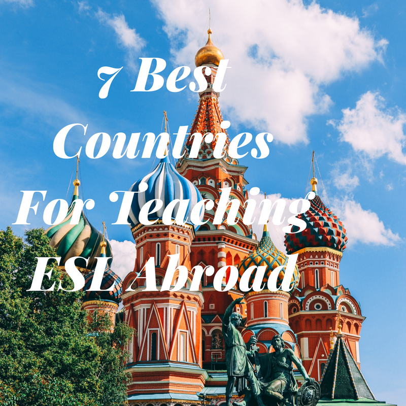 7 Best Countries For Teaching ESL Abroad. Find out the top spots where you should teach English abroad and why! Travel, teach, earn and thrive right now!