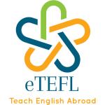 eTefl Logo White Background