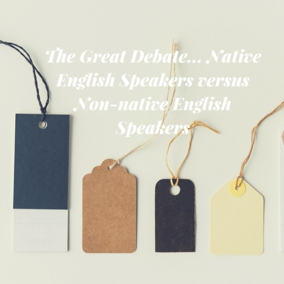 The Great Debate..Native English Speakers versus Non-native English Speakers Posted by eternalwanderlustheart It's a tough topic, someone always seems to get offended. Here's a look at what really matters, and who's right.