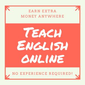Earn Extra Money Anywhere - Teach English Online