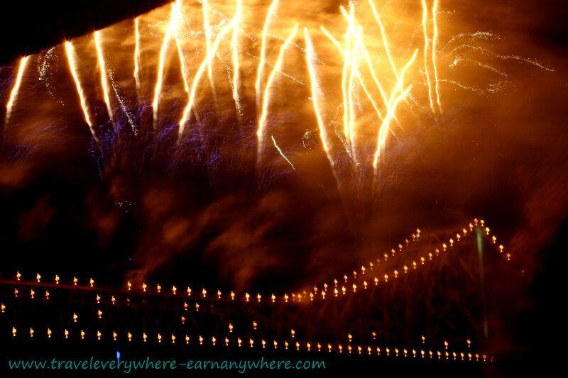 River Fire, Brisbane - a popular annual event in September
