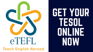 Get TESOL Certified with eTEFL Online