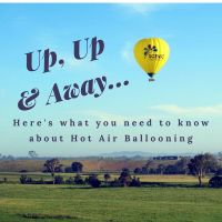 Up, up and away in my beautiful balloon! Here's what you need to know about hot air ballooning.