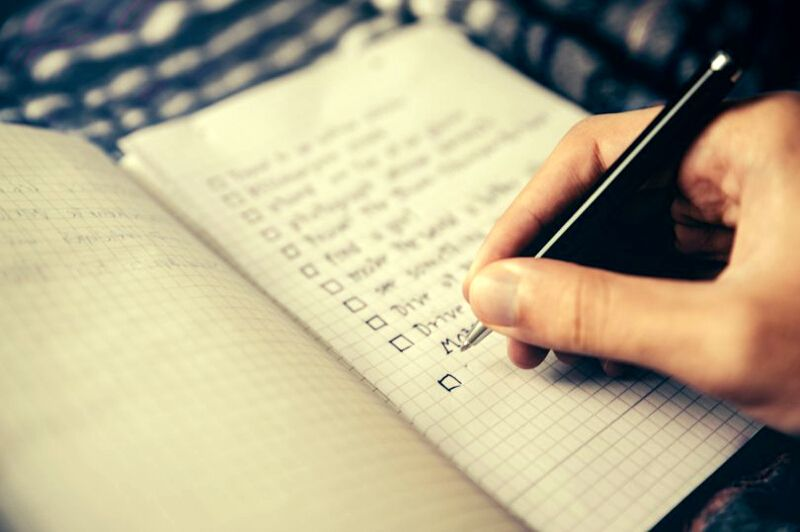 Reduce Anxiety - Make a List