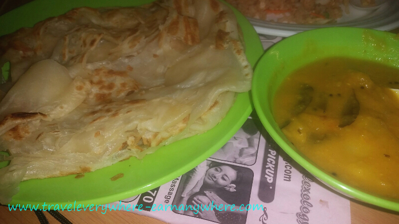 Tasty Malaysian Food - Roti & Dahl