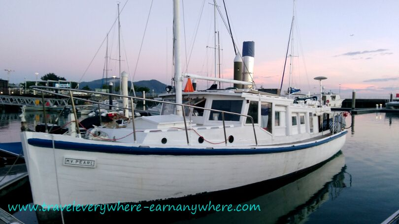 M.V. Betty Pearl in Cairns Marina