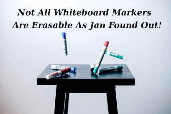 ESL Teacher Interview - Not All Whiteboard Markers are Erasable!