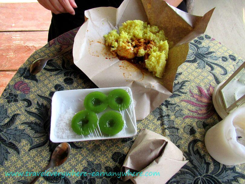 Malaysian Breakfast - Nasi Lemak