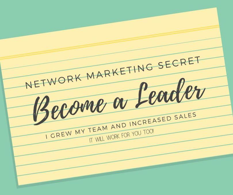 Network-Marketing-Secret-Become-a-Leader