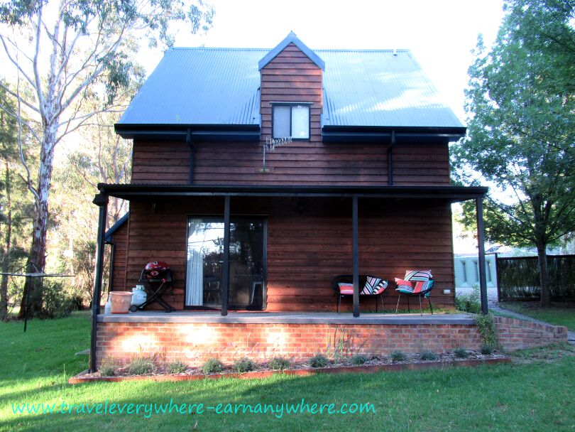 A quaint little 2-story cottage in Uralla, New South Wales, Australia