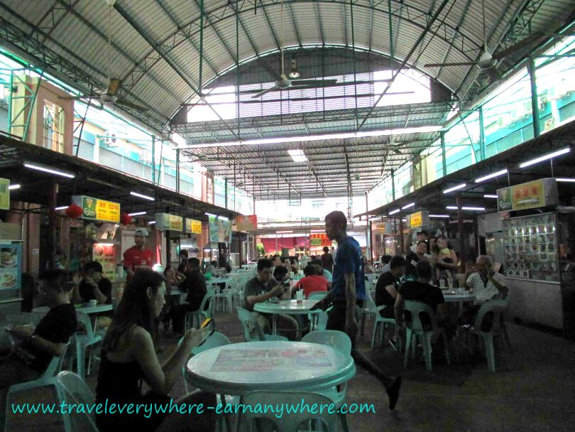 Hawker Centre in Tanjung Tokong, Penang